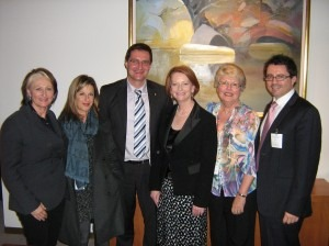 Julia Gillard and peers