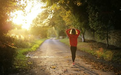Woman walking on a path | CFHP