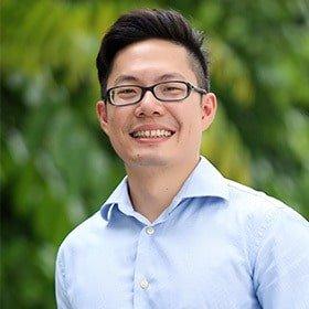 A photo of Dr Sam Wee Hong Tan